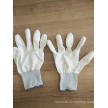 PU Finger Tip PU Защитные рабочие перчатки (PU011)