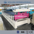 trapezoidal sheet roof tile wall panel roll forming machine hot in indian