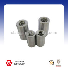 straight thread rebar coupler/connector,steel rebar coupler,rebar splicing coupler