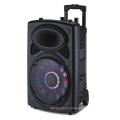 Профессиональный DJ Аудио 12-дюймовый батарея громкоговоритель с 2 Беспроводные Микрофоны 6814D