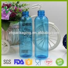 Цилиндр прозрачный 130 мл пластиковый насос для парфюмерной упаковки