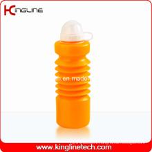 Plastic Sport Water Bottle, Plastic Sport Water Bottle, 600ml Plastic Drink Bottle (KL-6640)