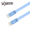 SIPU high quality cable colors cat6 flat pvc patch cord cable
