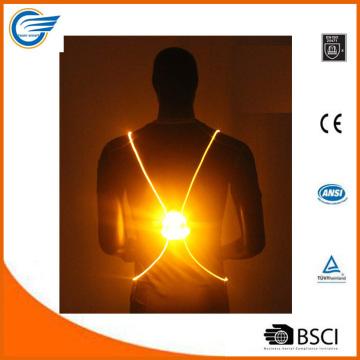 Chaleco Reflectivo de Alta Visibilidad LED para Jogging
