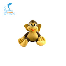 Juguete de mono relleno de felpa suave de personalidad