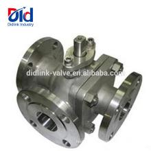 Цилиндр Diverter Cf8m 1000wog 1000 Wog Psi Dn40 Электрический трехходовой кран из нержавеющей стали