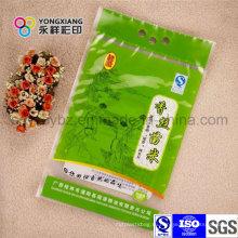 100% HDPE Сырьевой мешок для риса с отверстием для ручек и принять заказ