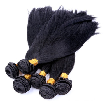 Indische gerade Remy seidige Welle Haarwebart