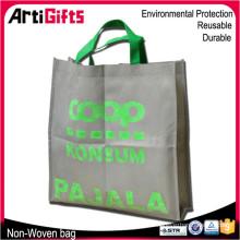 Bolso de compras no tejido pp reutilizable de gama alta