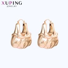 96927 xuping nuevo diseño de oro pendientes de mujer africana
