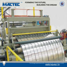 New type high quality used stainless steel slitting machine
