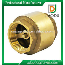 factory price forged cw617n male threaded 1 2 inch easy installation brass check valve for pump 6 inch