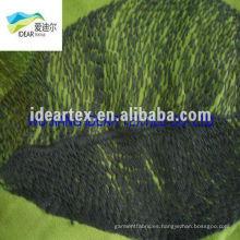 hojas de tela impresa del patrón