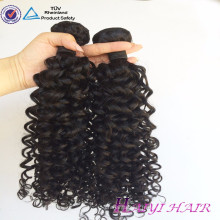 Aucun hangar non enchevêtrement non traité livraison rapide cheveux bouclés eurasienne
