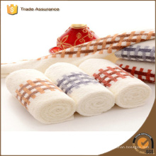 cotton yarn dyed series baby towel for children
