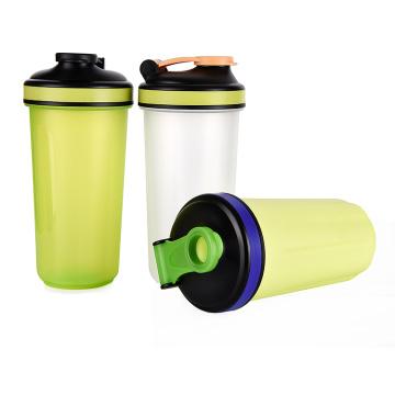 Impressão de logotipos de garrafa de shaker de 700ml, garrafa de proteína shaker, shaker de proteínas por atacado