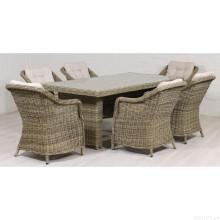 Terrasse Rattan Lounge Dining Set Outdoor Gartenmöbel Wicker