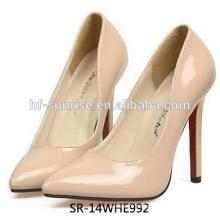 Zapatos del alto talón de las mujeres de SR-14WHE992 zapatos baratos del alto talón de la manera los últimos zapatos del alto talón para las muchachas