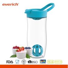 24oz / 720ml BPA libera la botella de la sacudida de encargo bpa libre Shaker con la bola adentro