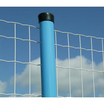 ПВХ покрытием ворот безопасности безопасности столба (Anjia-067)