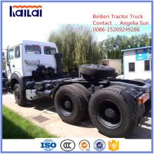 Beiben 380HP Camión tractor acoplado Mercedes-Benz Truck