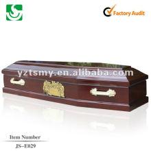 caixão de madeira Europa JS-E029