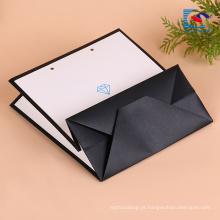 saco de papel liso de dobramento feito sob encomenda de Kraft do punho para calças