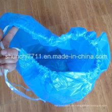 Plastikabfall Verpackung Beutel mit Seil