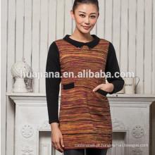 Fábrica de camisola de confecção de caxemira feminina