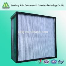 0.5 микрон стекловолокна фильтр медиа фильтра высокой эффективности HEPA
