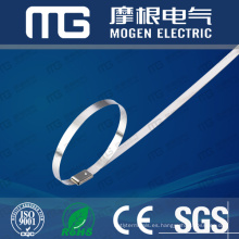 Bridas de cables de acero inoxidable 304 con aprobación CE