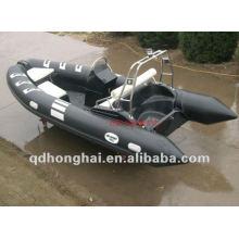 rígida CE rib480 fibra de vidro com pvc ou o hypalon barco inflável