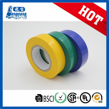 Fita de isolamento elétrico de PVC brilhante de melhor qualidade