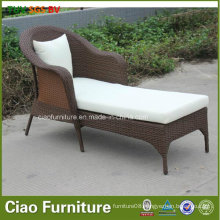 Leisure Rattan Furniture Outdoor Poolside Wicker Chaise Lounger (7801)