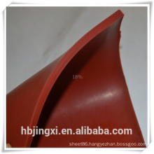 High Temperature Transparent White Red Color Silicone Rubber Sheet