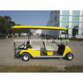 environmental 4 seater cheap battery power golf cart with CE certificate