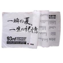 Custom Made Letters Printed Cotton Long Bandana