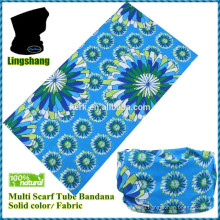 Wholesale Printed scarf tubular cap&seamless multifunction headwear bandana