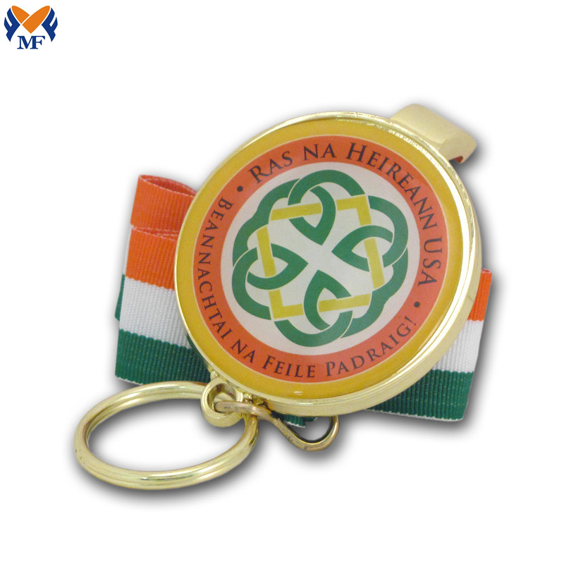 Customized Logo Bottle Opener Keychain