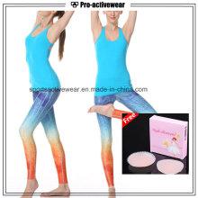 Girl Running Wear Stringer Gym Plain Tank Top para as Mulheres