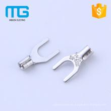 Nylon TU Non-insulated wire spade solder terminal lugs