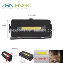 Ásia Líder Produtos BT-4815 100% Iluminação-50% Iluminação-Flash 3W COB 500Lumen Magnético Luz de Trabalho