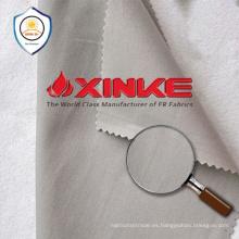 tela de punto de la protección del uv del poliéster de algodón para la ropa del workwear