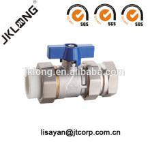 9207 Válvula de bola de latón de compresión