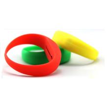 Pulseiras de silicone remoto de LED