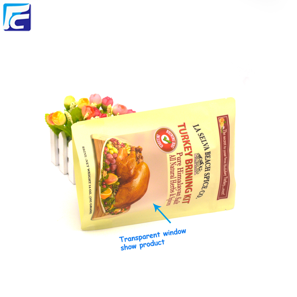 Block Bottom Food Packaging Bag