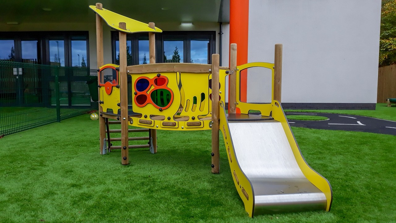 Backyard multiplay play structures