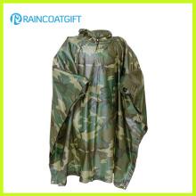 Imperméable en PVC Camouflage en Polyester (RPE-147)
