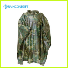 Polyester PVC Camouflage Raincoat (RPE-147)