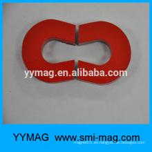 Componente en forma de C del imán Alnico